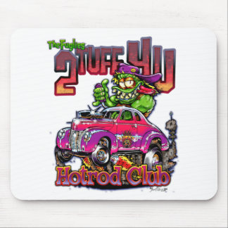 Hot Rod Monsters - THE FUGLIES HOTROD Mouse Mat