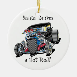 hot rod ornament