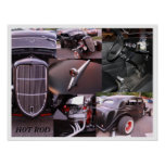 HOT ROD Print - Poster