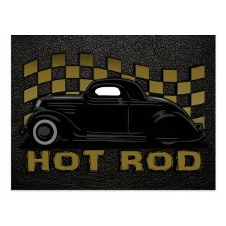 Hot Rod Racer Postcard