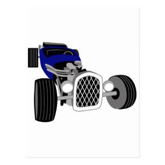 Hot Rod Roadster Postcard