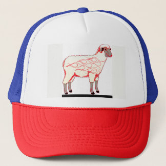 Hot Rod Sheep Trucker Hat