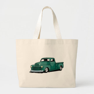 Hot Rod Truck Large Tote Bag