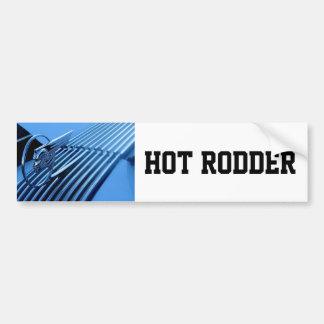 Hot Rodder Bumper Sticker
