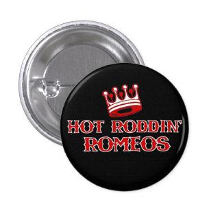 Hot Roddin' Romeos button