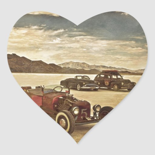 Hot Rods at Bonneville Stickers