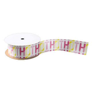 Hot Satin Ribbon