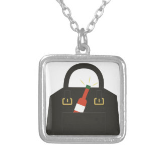 Hot Sauce Silver Plated Necklace