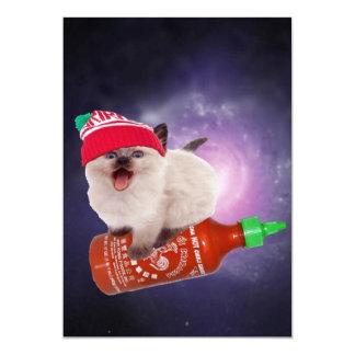 hot saucin' kat card