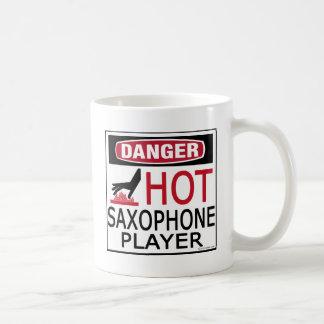 Hot Saxophone Player Coffee Mug