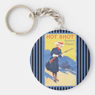 hot shot bunco player key ring