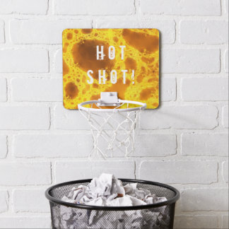 Hot Shot Fractal Art Mini Basketball Hoop