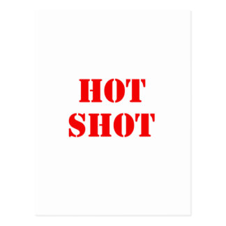 Hot Shot red Post Cards
