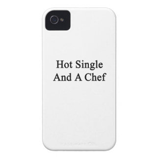 Hot Single And A Chef iPhone 4 Case-Mate Cases