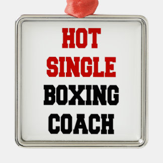 Hot Single Boxing Coach Christmas Ornament