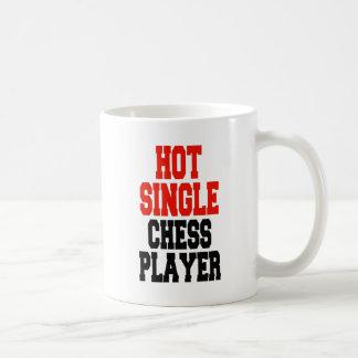 Hot Single Chess Player Coffee Mugs