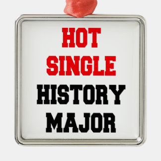 Hot Single History Major Christmas Ornament