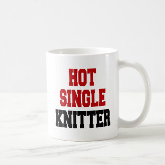 Hot Single Knitter Coffee Mug