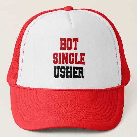 Hot Single Usher Cap