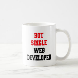 Hot Single Web Developer Coffee Mug
