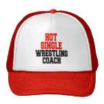 Hot Single Wrestling Coach Cap