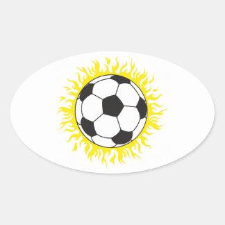 hot soccer ball stickers