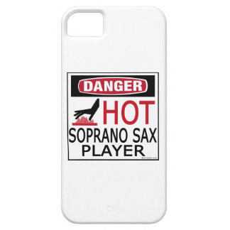 Hot Soprano Sax Player iPhone 5 Cases