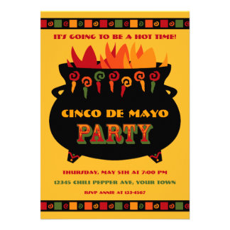 Hot Spicy Party Invitation
