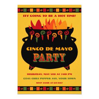 Hot & Spicy Party Invitation