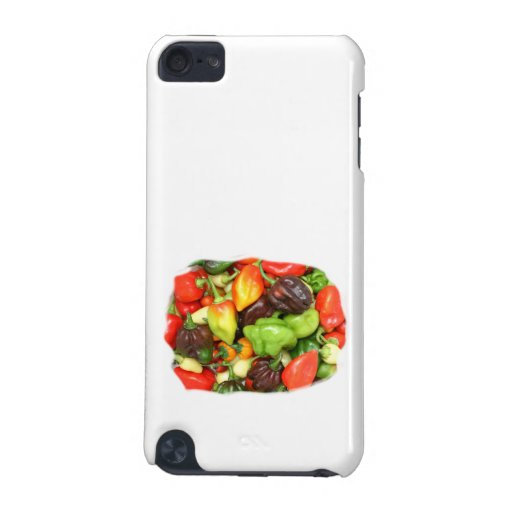Hot Spicy Peppers Different Species, Spice it up! iPod Touch (5th Generation) Cover