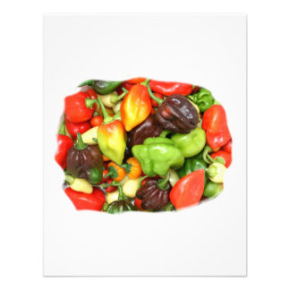 Hot Spicy Peppers Different Species Spice it up Custom Invite