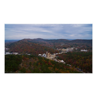 Hot Springs Arkansas Historic District Poster