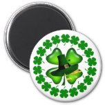 Hot Springs St Patricks Day Parade 6 Cm Round Magnet