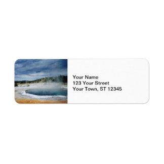 Hot Springs- Yellowstone
