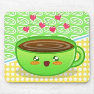 Hot Steamy Coffee Mousepad
