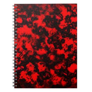 Hot Stuff Lava Notebook