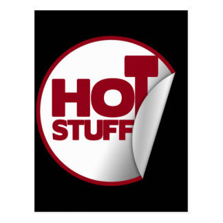 Hot Stuff Postcard