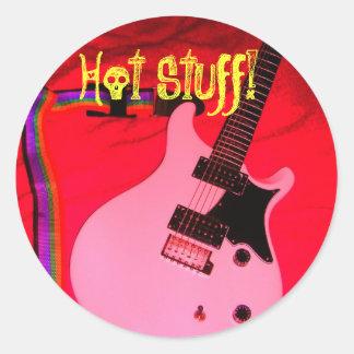 Hot Stuff! Round Sticker