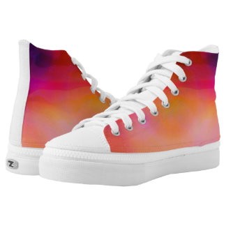 Hot summer day printed shoes