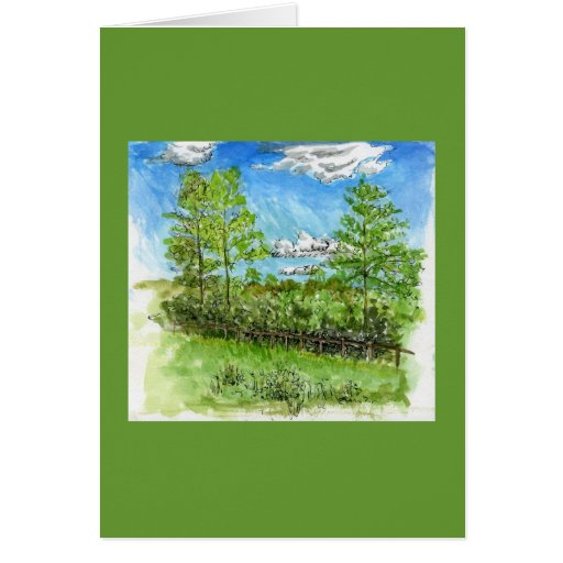 """""""Hot Summer Days"""" Greeting Cards"""