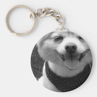 Hot Summer Doggy Days Keychain