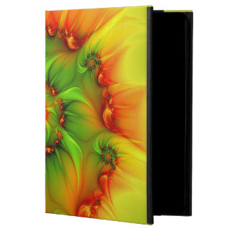 Hot Summer Green Orange Abstract Colorful Fractal Powis iPad Air 2 Case