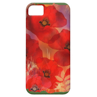 Hot summer poppies case for the iPhone 5