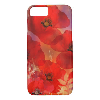 Hot summer poppies iPhone 8/7 case