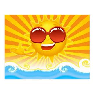 Hot Summer Sun Postcard