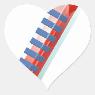 Hot Thermometer Bursting Icon Heart Sticker