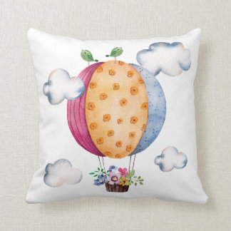 Hot to air balloon cushion