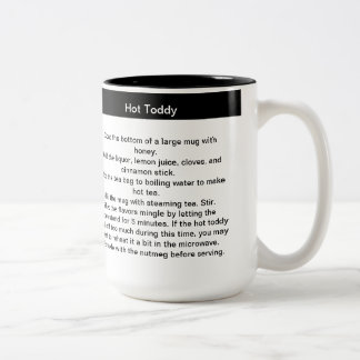 Hot Toddy Recipe Coffee Mug