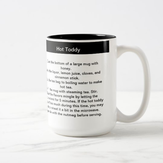 Hot Toddy Recipe Coffee Mug