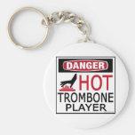 Hot Trombone Player